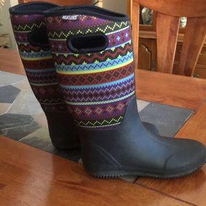 Muk Luks rain ☔️ boots